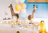 Giraffe Birthday Decorations Kara 39 S Party Ideas Little Giraffe Birthday Party Kara 39 S