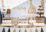 Giraffe Birthday Decorations Kara 39 S Party Ideas sophie the Giraffe 1st Birthday Party
