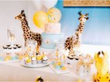 Giraffe Birthday Party Decorations Kara 39 S Party Ideas Little Giraffe Birthday Party Kara 39 S