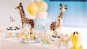 Giraffe Birthday Party Decorations Kara 39 S Party Ideas Little Giraffe Birthday Party Kara 39 S