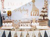 Giraffe Birthday Party Decorations Kara 39 S Party Ideas sophie the Giraffe 1st Birthday Party