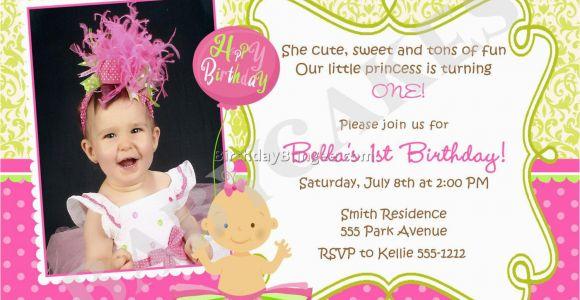 Girl Birthday Invitation Message 21 Kids Birthday Invitation Wording that We Can Make