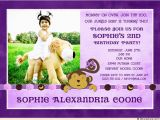 Girl Birthday Invitation Message 2nd Birthday Invitation Wording Ideas Bagvania Free