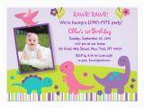 Girl Dinosaur Birthday Invitations Girl Dinosaur Birthday Invitations Zazzle