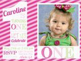 Girl First Birthday Invitations Photo 1st Birthday Invitations Girl Free Template Girl 1st