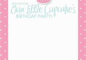 Girly Birthday Invitation Templates Free Printable Birthday Invitations for Girls Template