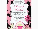 Girly Birthday Invitation Templates Girly Farm themed Birthday Party Invitation Zazzle Com