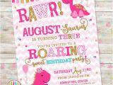 Girly Birthday Invitations Free Printable Girly Dinosaur Invite Girl Dinosaur Birthday Pink and