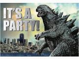Godzilla Birthday Card 32 Best Godzilla Birthday Party Ideas Decorations and