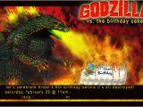Godzilla Birthday Card February 2012