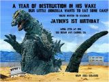 Godzilla Birthday Card Unavailable Listing On Etsy