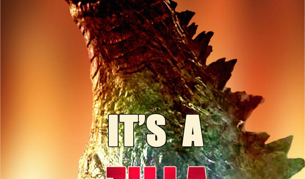 Godzilla Birthday Card Zilla Personalized Invitation 2