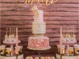 Gold Birthday Party Decorations Kara 39 S Party Ideas Pink Gold 1st Birthday Party Kara 39 S