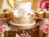 Gold Birthday Party Decorations Kara 39 S Party Ideas Pink Gold butterfly Baby Shower