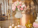 Gold Birthday Party Decorations Kara 39 S Party Ideas Pink Gold Princess Birthday Party