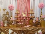 Gold Birthday Party Decorations Pink and Gold Minnie Mouse Celebration Birthday Party