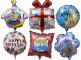 Gold Happy Birthday Banner Dollar Tree View Pre Inflated Mini Quot Happy Birthday Quot Balloons