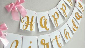 Gold Happy Birthday Banner Target Gold Happy Birthday Banner Handcrafted In 1 3 Business