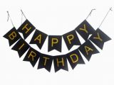 Gold Happy Birthday Banner Uk Sweet Pea Parties Happy Birthday Banners