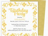 Golden Birthday Invitation Wording Golden Birthday Invitations Template Best Template