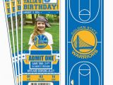 Golden State Warriors Birthday Invitations 25 Best Ideas About Golden State Warriors Tickets On