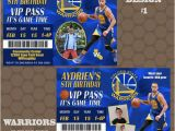 Golden State Warriors Birthday Invitations Golden State Warriors Basketball Birthday Party Invitations