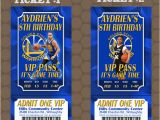 Golden State Warriors Birthday Invitations Golden State Warriors Basketball Birthday Party Ticket