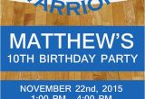 Golden State Warriors Birthday Invitations Golden State Warriors Nba Birthday Invitation by