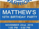 Golden State Warriors Birthday Invitations Golden State Warriors Nba Birthday Invitation by