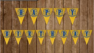 Golden State Warriors Happy Birthday Banner Golden State Warriors Digital Happy Birthday Banner Party Diy