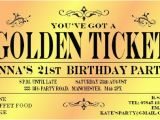 Golden Ticket Birthday Invitation 23 Best Images About Willy Wonka Party On Pinterest Bar