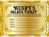 Golden Ticket Birthday Invitation Willy Wonka themed Party and What You Should Keep In Mind