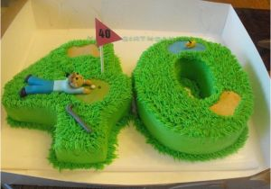 Golf 40th Birthday Ideas 25 Best About Cakes On Pinterest