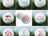 Golf Birthday Gifts for Him Personalised Golf Balls Gifts for Him Men Dads Golfers