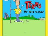 Golf Birthday Presents for Him Funny Birthday Card Golfing Funny Golf Card Jokes