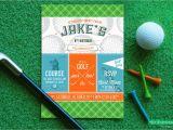 Golf themed Birthday Invitations Free Printable Golf Birthday Invitations