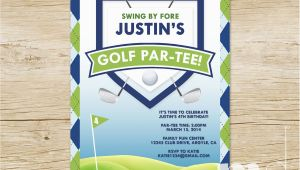 Golf themed Birthday Invitations Golf themed Birthday Invitations Ideas Bagvania Free