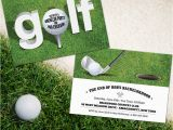 Golf themed Birthday Invitations Party Simplicity Looking for Cool Golf themed Party