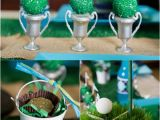 Golf themed Birthday Party Decorations Father 39 S Day Party Ideas A Green Blue Argyle Golf Par