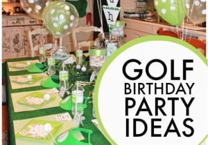 Golf Themed Birthday Party Decorations 6th Boy Spaceships And Laser