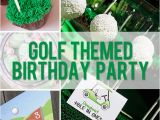 Golf themed Birthday Party Decorations Golf themed Birthday Party How Does She