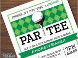 Golf themed Birthday Party Invitations Golf Surprise Party Invitations Printable Golf Surprise