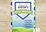 Golf themed Birthday Party Invitations Golf themed Birthday Invitations Ideas Bagvania Free