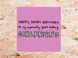 Good Birthday Cards for Girlfriend 39 Exceptionally Good Looking Girlfriend 39 Birthday Card by