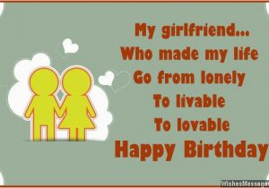 Good Birthday Cards For Girlfriend Wishes Quotes And Messages Sms