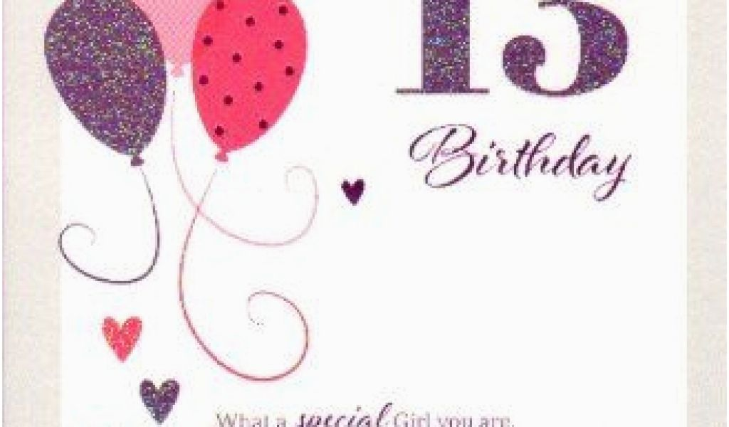 Granddaughter 13th Birthday Card For A Special Granddaughter On Your