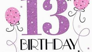 Granddaughter 13th Birthday Card Icg Sister 70th Birthday Card Big Pink Purple Lilac
