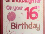 Granddaughter 16th Birthday Cards Granddaughter 16th Birthday Card Ebay