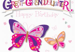 Granddaughter Birthday Card Images Great Granddaughter Happy Birthday Greeting Card Cards