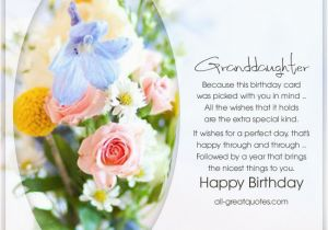 Granddaughter Birthday Card Images Happy Birthday Special Granddaughter